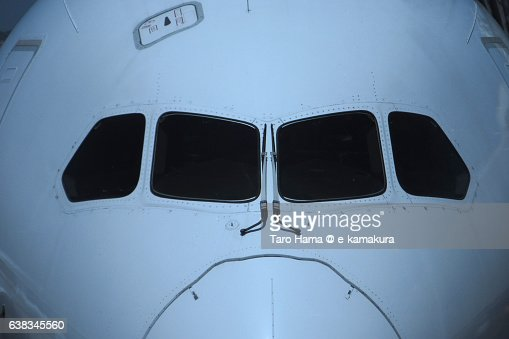 Airplane symmetry view