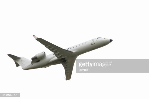 Aereo decollare foto stock getty images for Grandi jet d affari in cabina