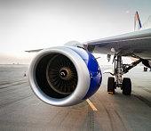 Airplane Turbine Detail