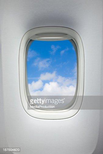 飛行機ウィンドウ(クリッピングパス)