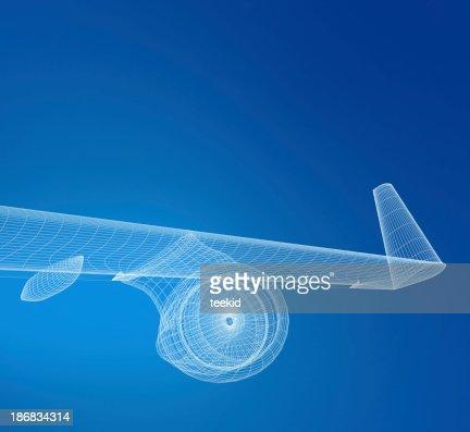 Airplane Wireframe