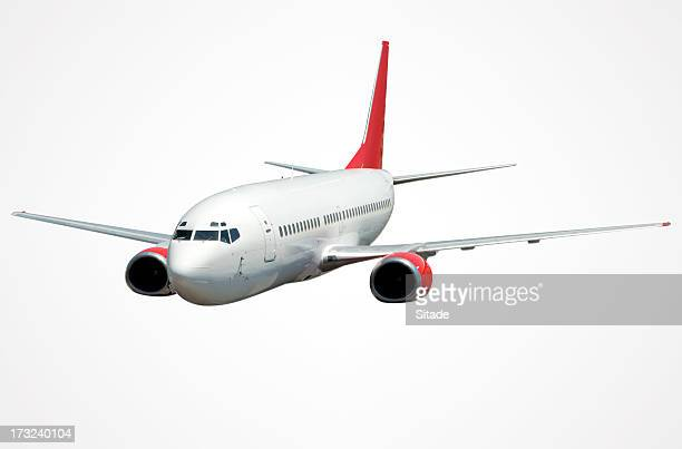 Airplane With Clipping Path