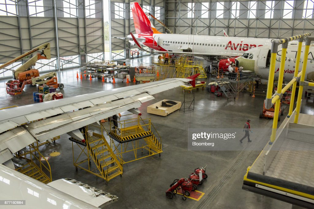 An Avianca Colombia Airline Terminal And Maintenance Facility As Supreme Court Grapples With Pilot Strike Legality