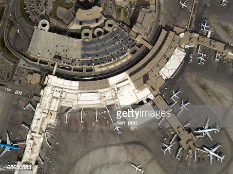 Airport Aerial Photo