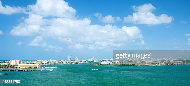Airport and ferry terminals. San Juan, Puerto Rico.