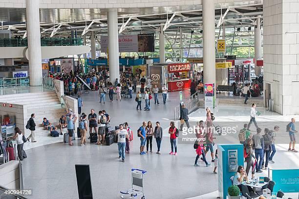 Aeroporto de chegada hall
