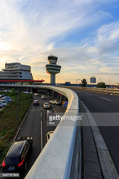 Airport Berlin Tegel (Otto Lilienthal) - Tower and driveway