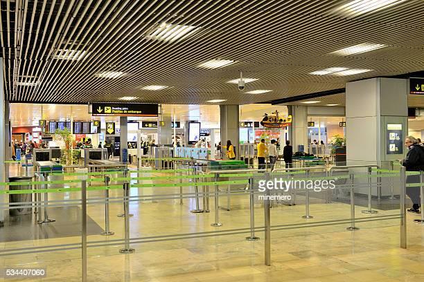 Puertas de abordaje del aeropuerto