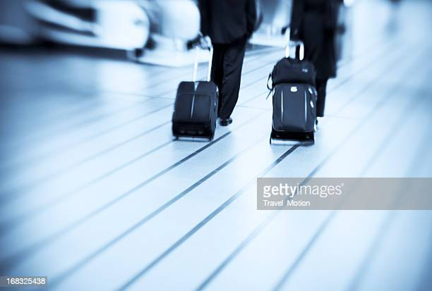 Airport business travelers