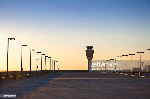 Airport Car Park and Control Tower