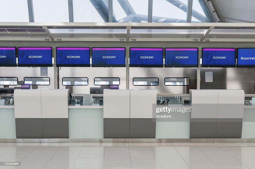 Airport Check In Counters