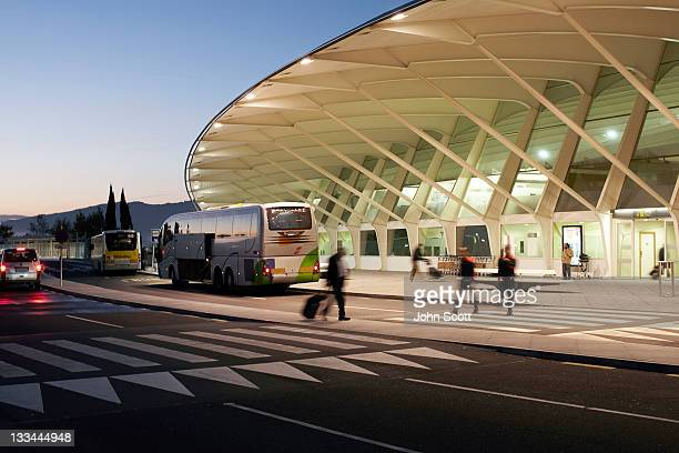 Airport Exterior Arrivals and Departures