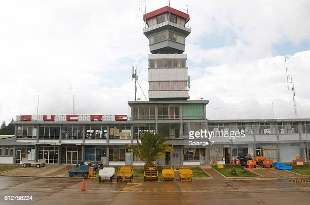 Airport in Sucre Bolivia