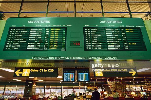 Airport Interior in Singapore