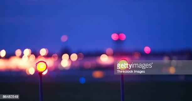Airport runway lights