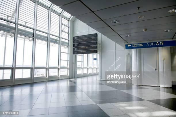 Scène de l'aéroport