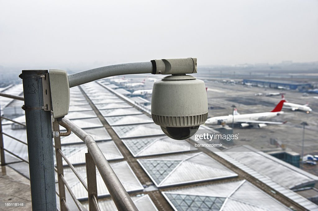 Airport Security Cameras