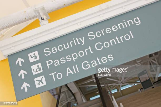 Airport sign # 23