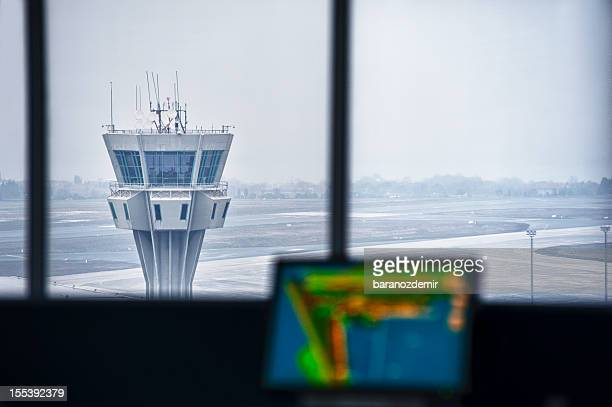 Airport Tower Innenansicht