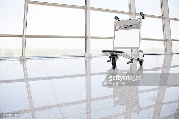 Airport Travel--Luggage cart