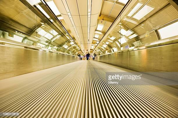 Airport Walkway Tunnel Modern Architecture