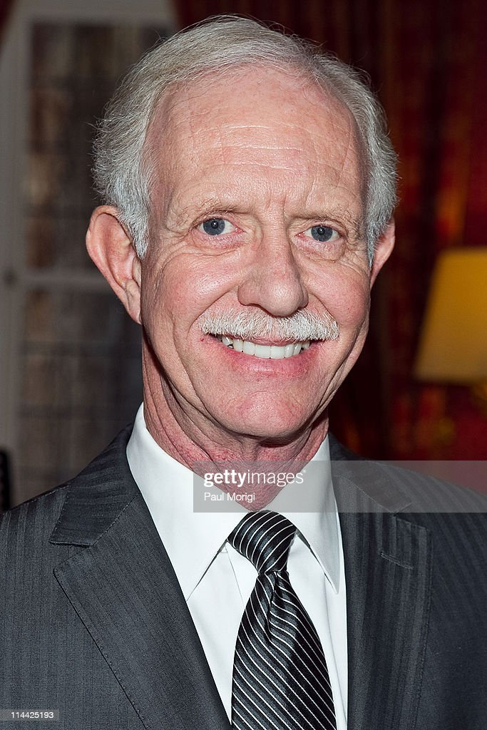 US Airways Capt. Chesley 'Sully' Sullenberger (Ret.) at the presentation of the National Order of the Legion of Honour Officier Award to Chesley Sullenberger at the French Ambassador's Residence on December 17, 2010 in Washington, DC.