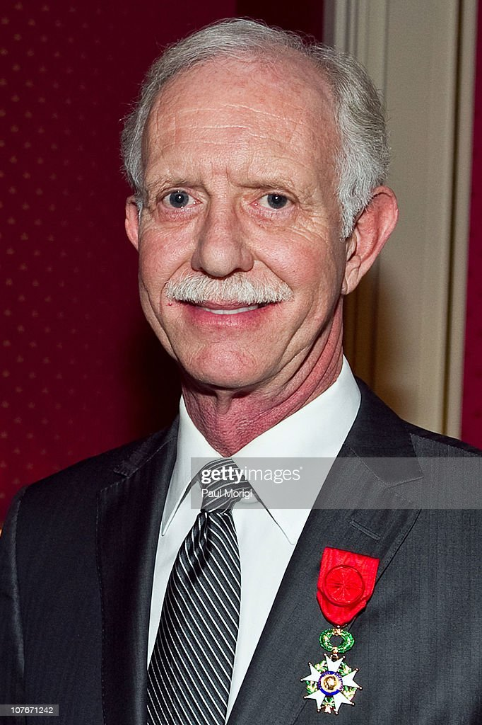 US Airways Capt. Chesley 'Sully' Sullenberger (Ret.) receives the National Order of the Legion of Honour Officier Award at the French Ambassador's Residence on December 17, 2010 in Washington, DC.