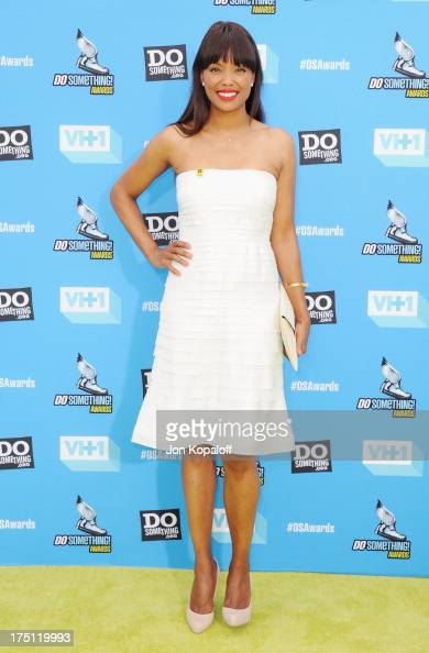 Aisha Tyler arrives at the 2013 Do Something Awards at Avalon on July 31 2013 in Hollywood California