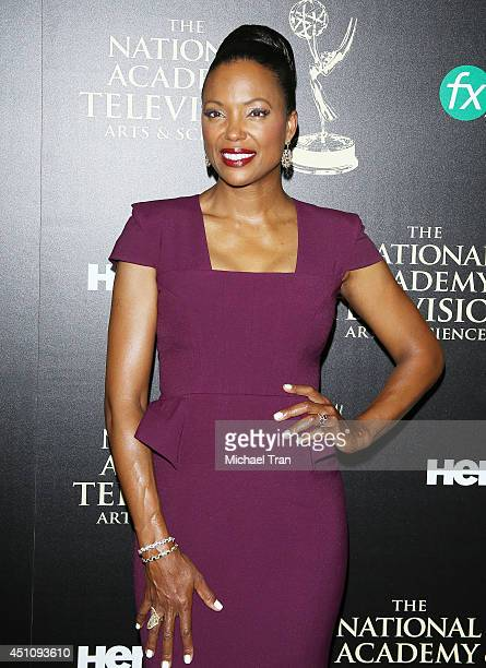 Aisha Tyler arrives at the 41st Annual Daytime Emmy Awards held at The Beverly Hilton Hotel on June 22 2014 in Beverly Hills California