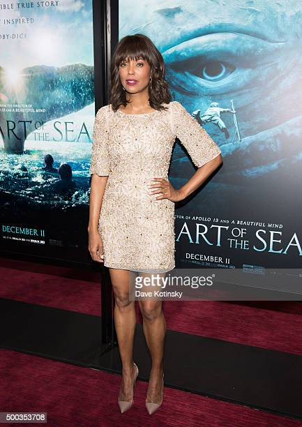 Aisha Tyler arrives at the 'In The Heart Of The Sea' New York Premiere at Frederick P Rose Hall Jazz at Lincoln Center on December 7 2015 in New York...