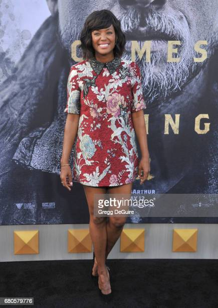 Aisha Tyler arrives at the premiere of Warner Bros Pictures' 'King Arthur Legend Of The Sword' at TCL Chinese Theatre on May 8 2017 in Hollywood...