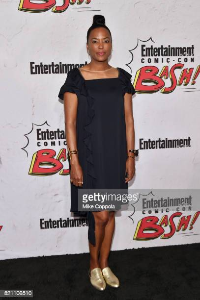 Aisha Tyler at Entertainment Weekly's annual ComicCon party in celebration of ComicCon 2017 at Float at Hard Rock Hotel San Diego on July 22 2017 in...