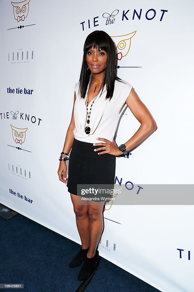 Aisha Tyler at the launch of Tie The Knot, a charity benefitting marriage equality through the sale of limited edition bowties available online at TheTieBar.com/JTF held at The London West Hollywood on November 14, 2012 in West Hollywood, California.