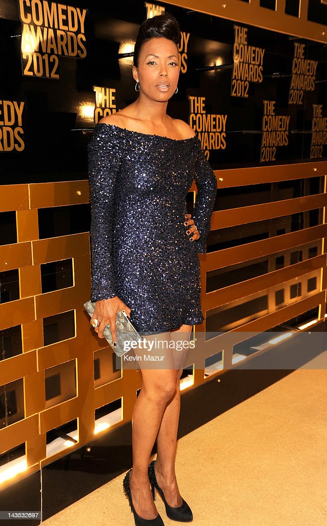 Aisha Tyler attends The Comedy Awards 2012 at Hammerstein Ballroom on ...