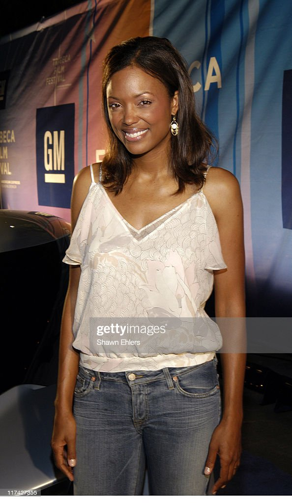 Aisha Tyler during 3rd Annual Tribeca Film Festival - GM Drive-In at GM Drive-In in New York City, New York, United States.