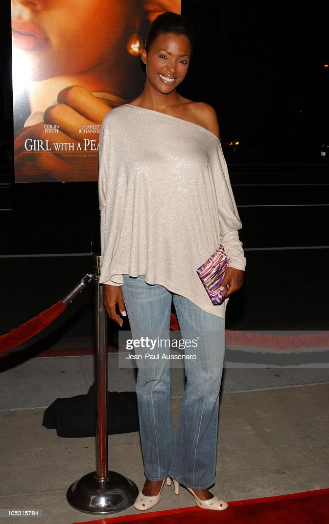 Aisha Tyler during 'Girl With A Pearl Earring' Los Angeles Premiere - Arrivals at Academy of Motion Pictures Arts and Sciences in Beverly Hills, California, United States.