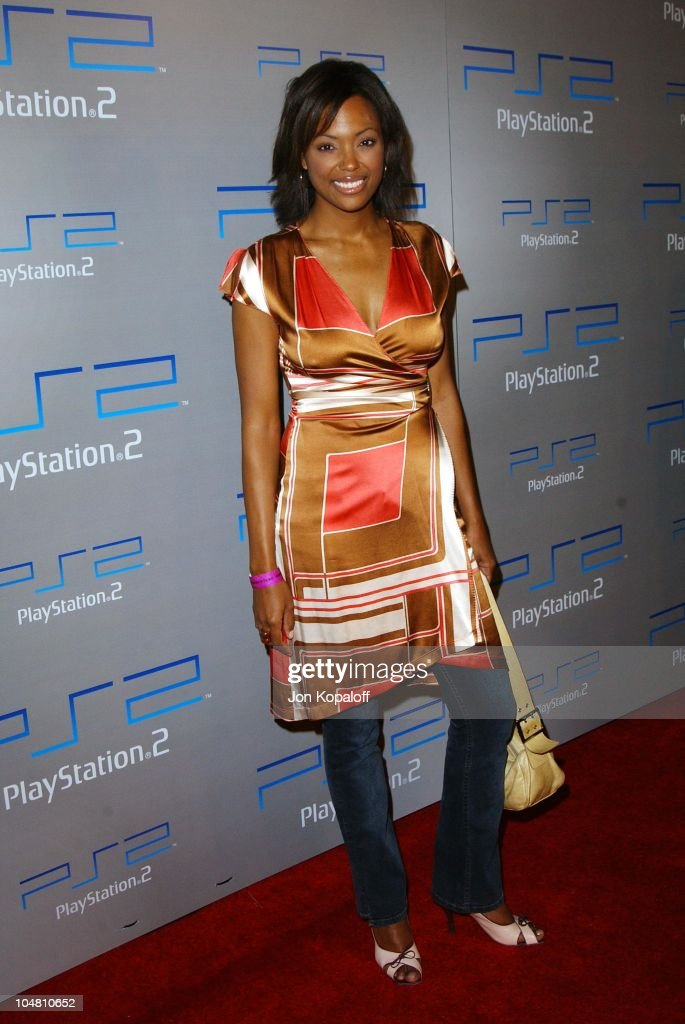 <a gi-track='captionPersonalityLinkClicked' href=/galleries/search?phrase=Aisha+Tyler&family=editorial&specificpeople=202262 ng-click='$event.stopPropagation()'>Aisha Tyler</a> during Playstation 2 E3 Party 'Playa Del Playstation' - Arrivals at Viceroy Hotel in Santa Monica, CA, United States.