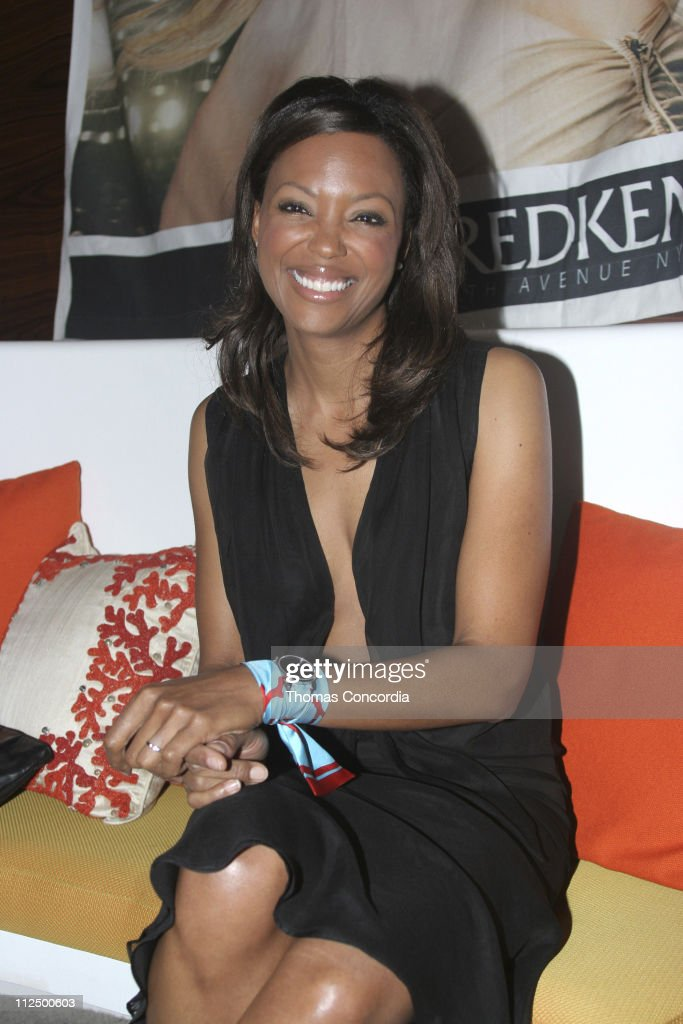Aisha Tyler during 'Seamless' Screening After Party Movado Booth at Astra in Los Angeles California United States