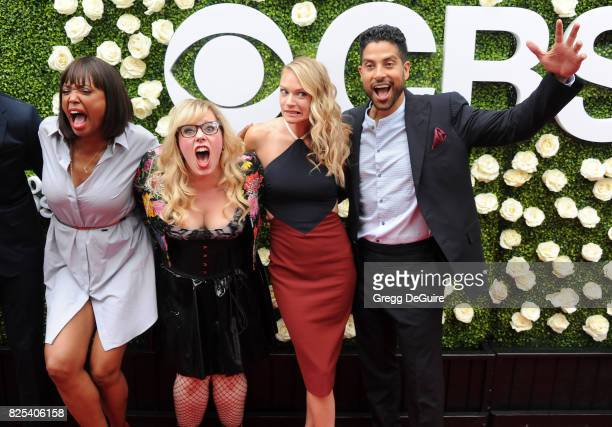 Aisha Tyler Kirsten Vangsness AJ Cook and Adam Rodriguez arrive at the 2017 Summer TCA Tour CBS Television Studios' Summer Soiree at CBS Studios...
