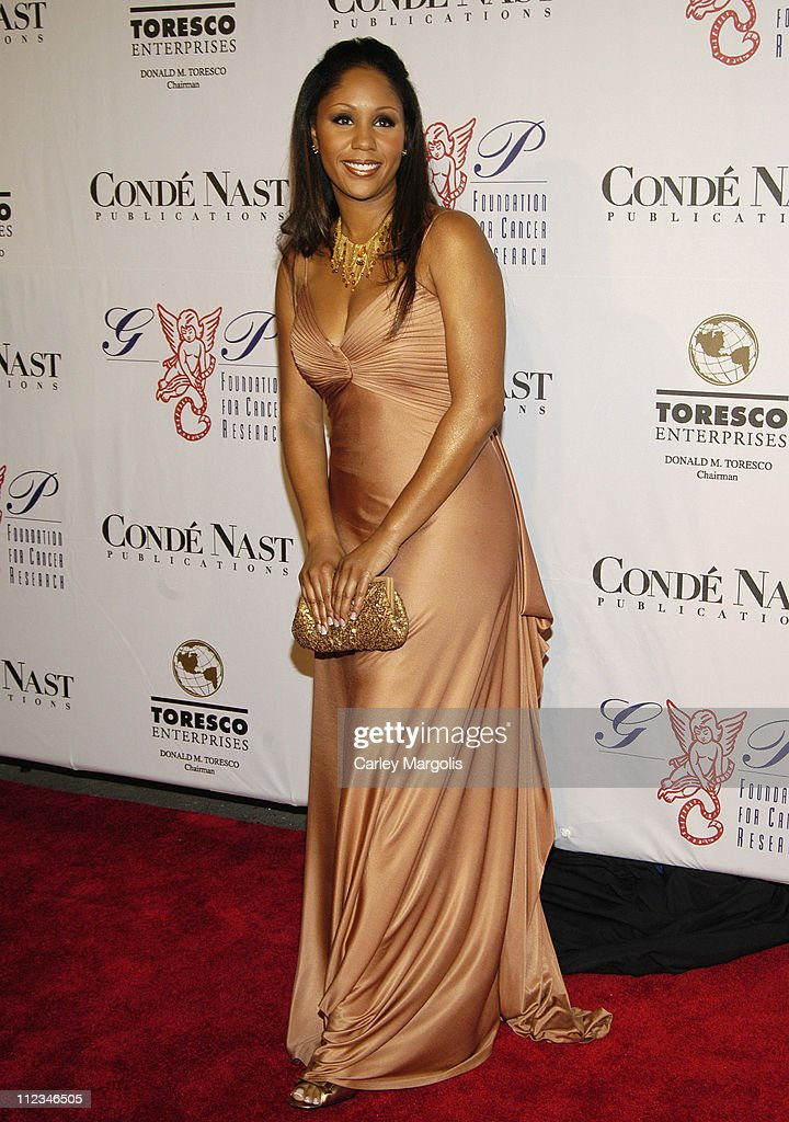 Aisha Wonder during The G&P Foundation for Cancer Research 4th Annual Angel Ball at Marriott Marquis in New York City, New York, United States.