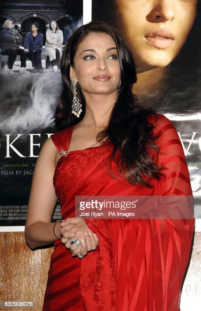 Aishwarya Rai arrives for a special preview screening of Provoked at the Courthouse Hotel Kempinski in central London