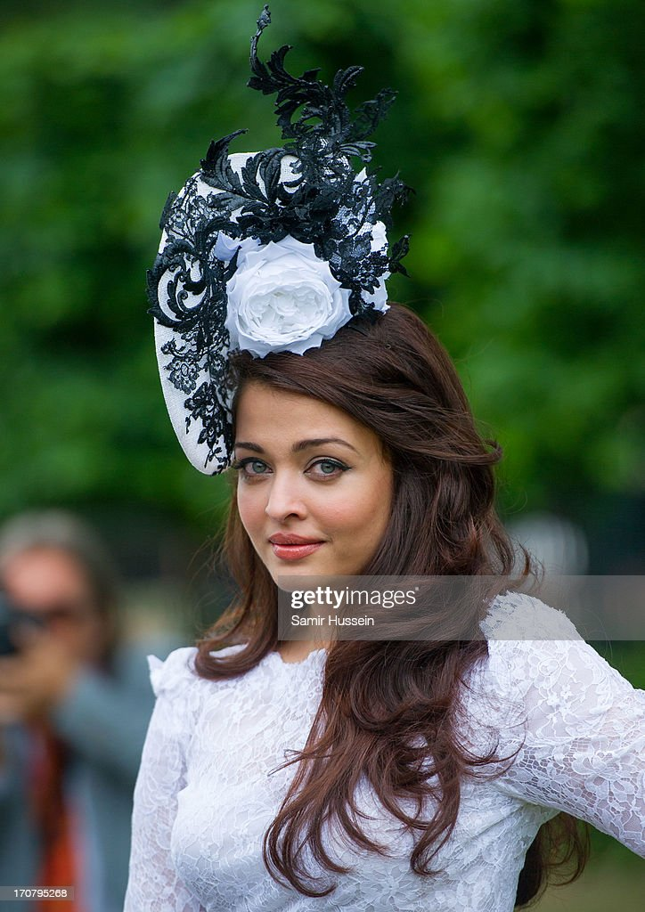 <a gi-track='captionPersonalityLinkClicked' href=/galleries/search?phrase=Aishwarya+Rai&family=editorial&specificpeople=202237 ng-click='$event.stopPropagation()'>Aishwarya Rai</a> attends day 1 of Royal Ascot at Ascot Racecourse on June 18, 2013 in Ascot, England.