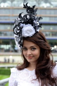 Aishwarya Rai attends Day 1 of Royal Ascot at Ascot Racecourse on June 18 2013 in Ascot England