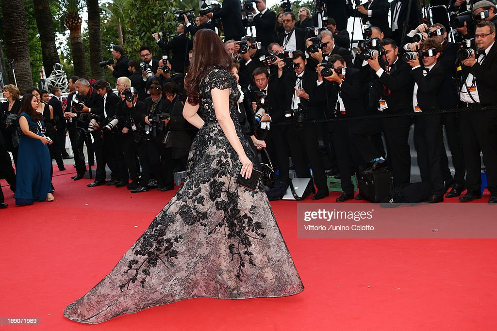 Aishwarya Rai attends 'Inside Llewyn Davis' Premiere during the 66th Annual Cannes Film Festival at Palais des Festivals on May 19, 2013 in Cannes, France.