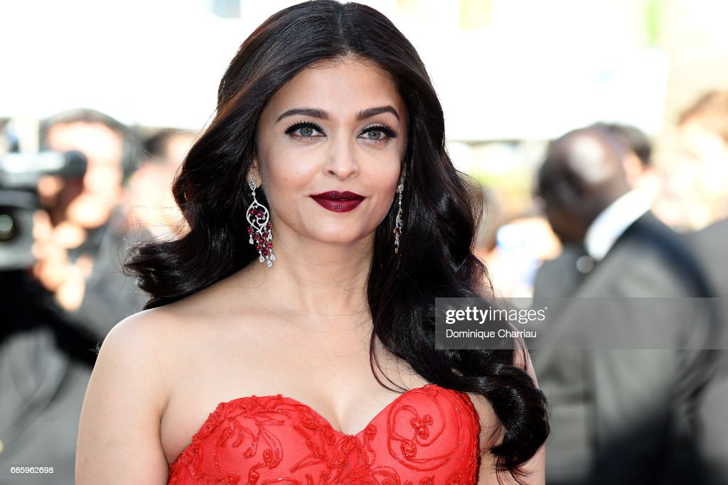 Aishwarya Rai attends the '120 Beats Per Minute (120 Battements Par Minute)' screening during the 70th annual Cannes Film Festival at Palais des Festivals on May 20, 2017 in Cannes, France.
