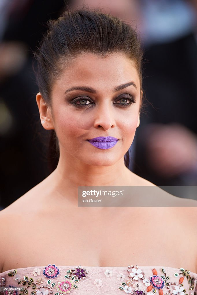 <a gi-track='captionPersonalityLinkClicked' href=/galleries/search?phrase=Aishwarya+Rai&family=editorial&specificpeople=202237 ng-click='$event.stopPropagation()'>Aishwarya Rai</a> attends the 'From The Land Of The Moon (Mal De Pierres)' premiere during the 69th annual Cannes Film Festival at the Palais des Festivals on May 15, 2016 in Cannes, France.
