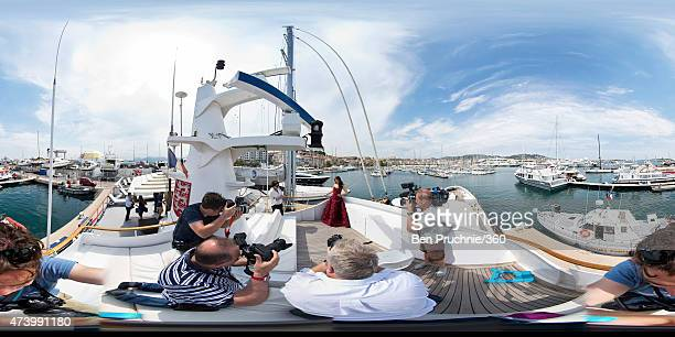 Aishwarya Rai attends the 'Jazbaa' photocall during the 68th annual Cannes Film Festival on May 19 2015 in Cannes France