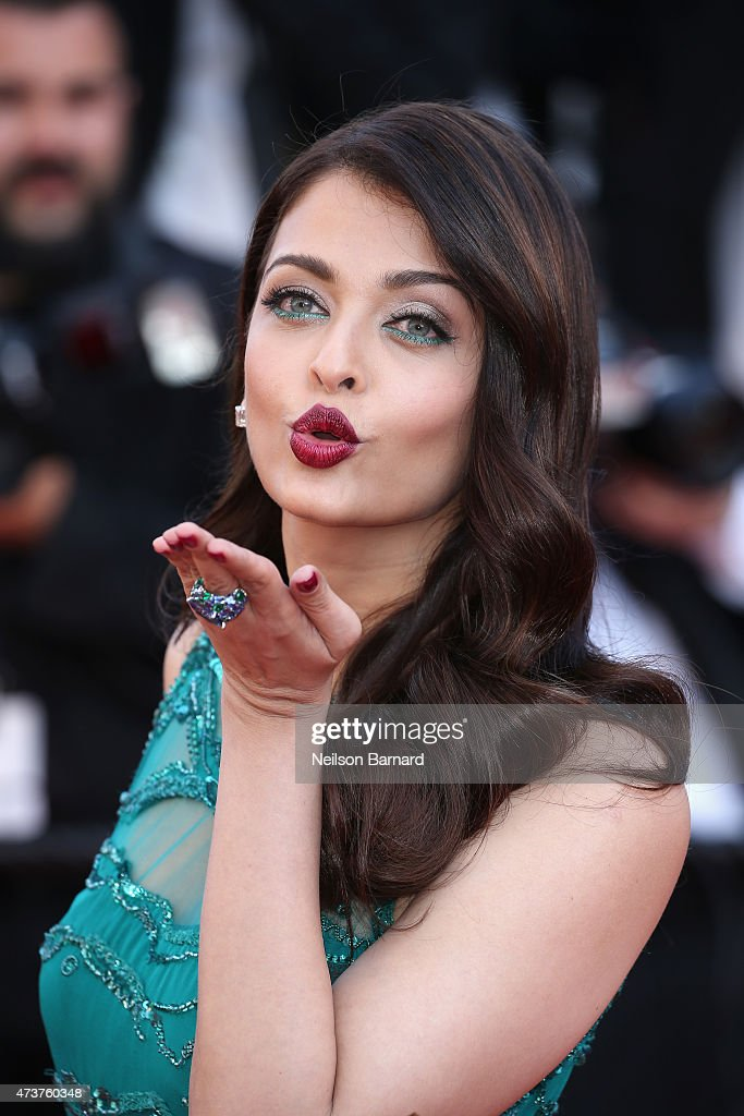 <a gi-track='captionPersonalityLinkClicked' href=/galleries/search?phrase=Aishwarya+Rai&family=editorial&specificpeople=202237 ng-click='$event.stopPropagation()'>Aishwarya Rai</a> attends the Premiere of 'Carol' during the 68th annual Cannes Film Festival on May 17, 2015 in Cannes, France.