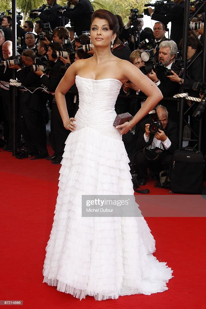 Aishwarya Rai attends the premiere of 'Up' at the Palais De Festival during the 62nd International Cannes Film Festival on May 13, 2009 in Cannes, France. on May 13, 2009 in Cannes, France.