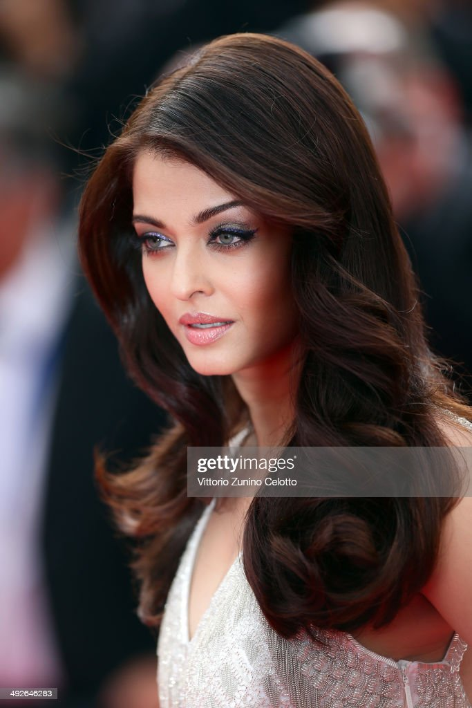 <a gi-track='captionPersonalityLinkClicked' href=/galleries/search?phrase=Aishwarya+Rai&family=editorial&specificpeople=202237 ng-click='$event.stopPropagation()'>Aishwarya Rai</a> attends 'The Search' premiere during the 67th Annual Cannes Film Festival on May 21, 2014 in Cannes, France.